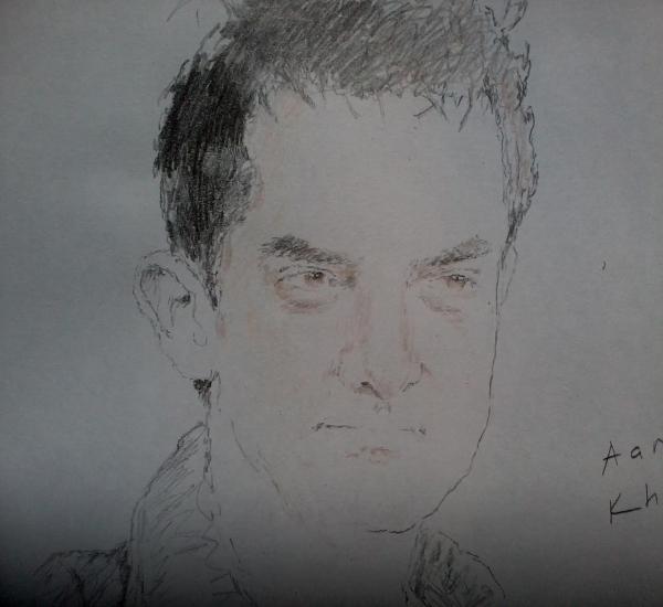 Aamir Khan by Betul